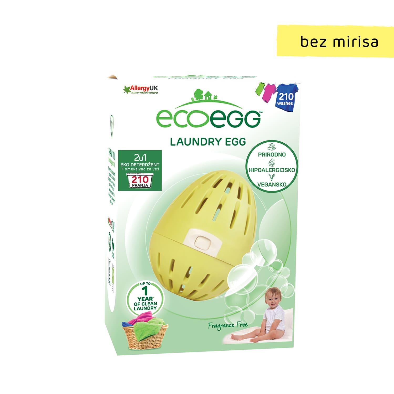 ECOEGG 2u1 eko-deterdžent i omekšivač za veš, Bez mirisa-210 pranja